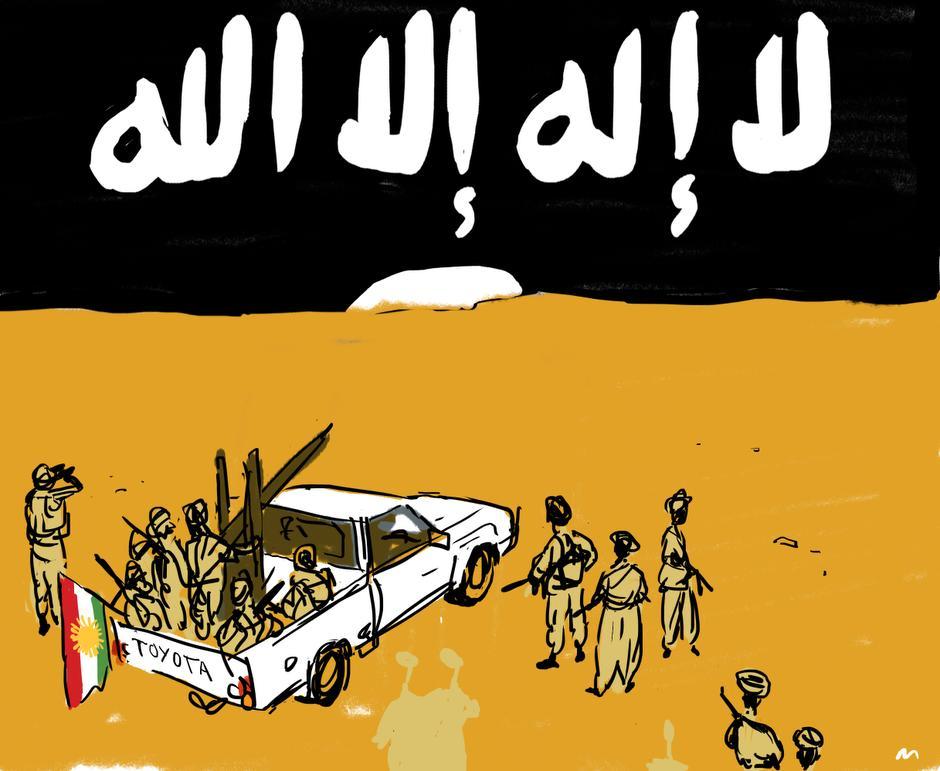 Danmark har svigtet kurderne i kampen mod Islamisk Stats ekstremister